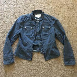 Banana Republic Cropped Jacket w/ Pockets Size 8
